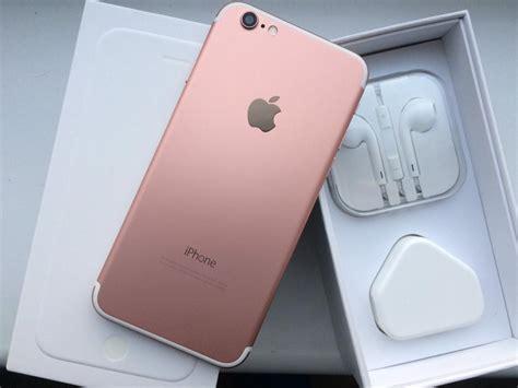 Iphone 6 16gb Gold Rosegold iphone 6 16gb metallic gold and white o2 giff gaff in crewe toll edinburgh gumtree