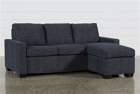 living spaces chaise sofa mackenzie denim plus sofa sleeper w storage chaise