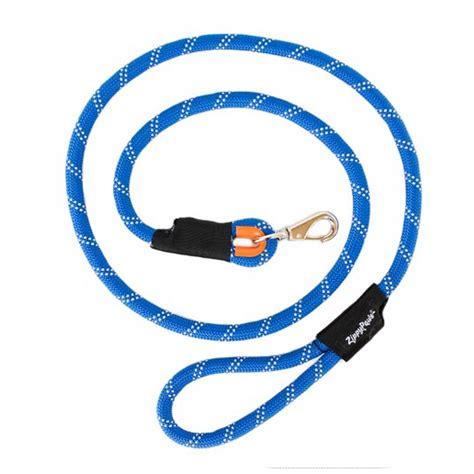 climbing rope leash zippypaws climbers mountain climbing rope leash blue at baxterboo