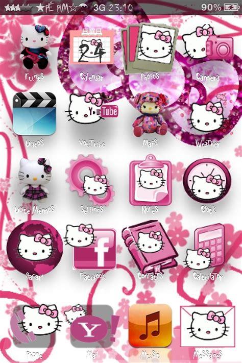 theme hello kitty cho iphone 5 tren cydia theme kitty cực cool cho ph 225 i đẹp tinhte vn