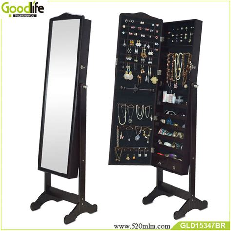 china painted jewelry armoire wooden jewelry cabinet