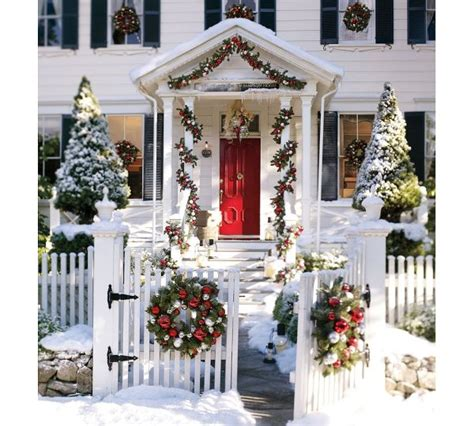 christmas decorated home christmas door decorating ideas nimvo interior design luxury homes