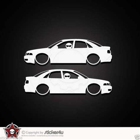 Audi A4 B5 Quattro Aufkleber by 844 2x Low And Slow Audi A4 B5 Sticker Aufkleber Vag