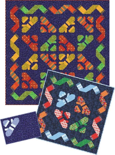 Knitting A Quilt by Qdnw Knittin Mittens Quilt Pattern