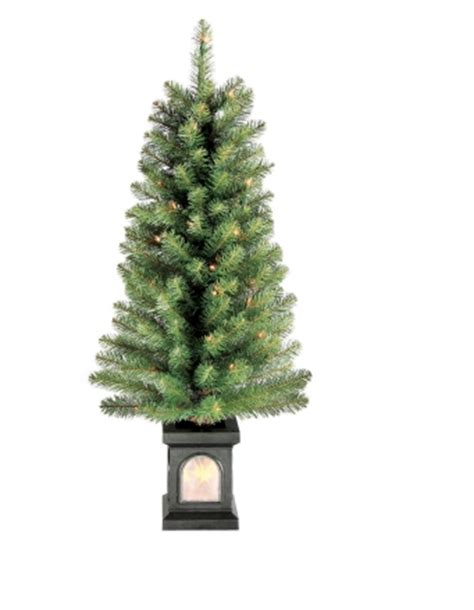 ace hardware 26 artificial xmas trees ace hardware celebrations 4ft clear pre lit tree w twinkling pot 9 99 plus free