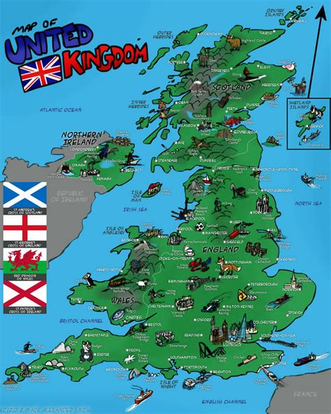 uk attractions map maps update 11661132 tourist map of europe map of