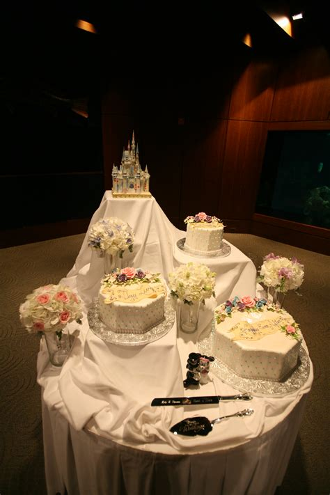 Custom disney wedding cake design your fairytale wedding