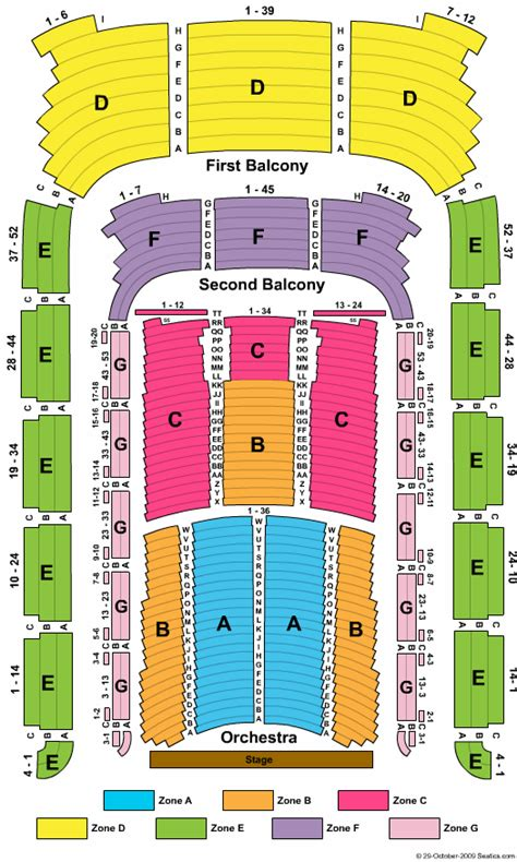 boston pops seating tables boston symphony seating chart bso building maps and