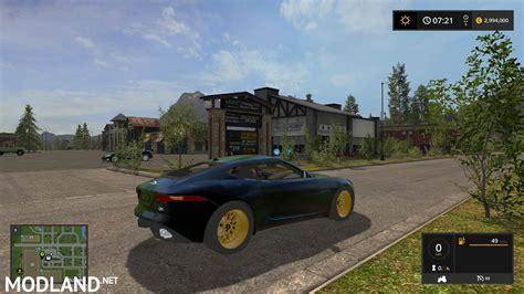 Car Mod Types by Jaguar F Type V 1 0 Mod Farming Simulator 17