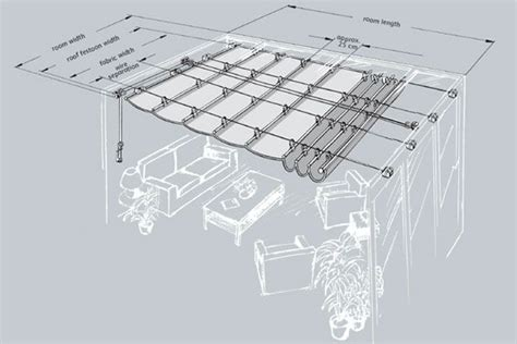 diy awning plans 25 best ideas about retractable pergola on pinterest