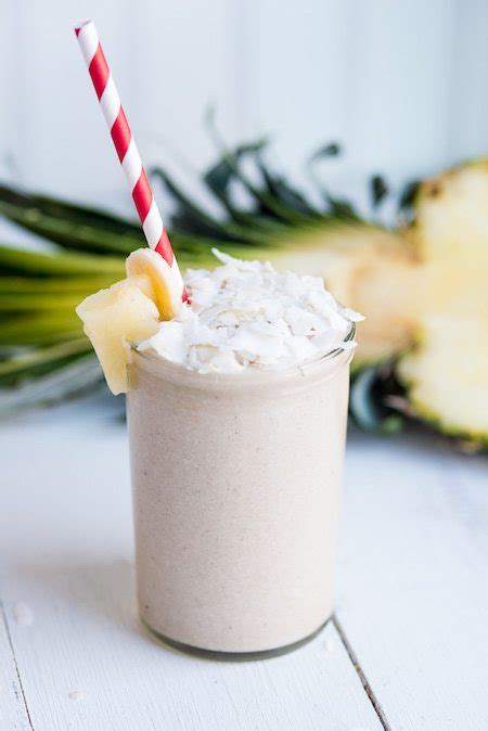 Detox Coconut Smoothies by Pineapple Coconut Smoothie Recipe 171 Snyder