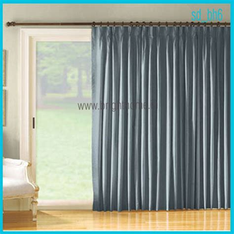 Curtains For Sliders Sliding Door Curtains Casual Cottage