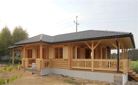wooden house plans french wooden home achille