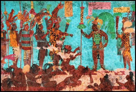 imagenes de murales mayas images from early america