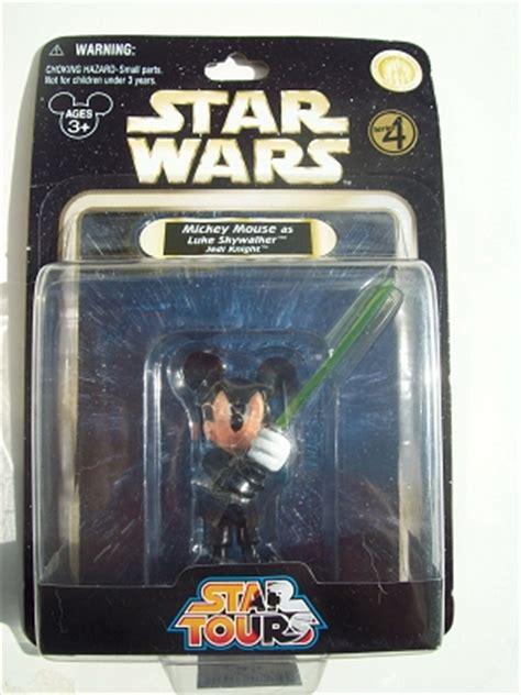 disney star wars figurine  mickey jedi knight