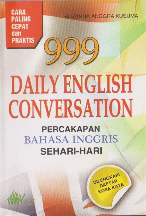 tutorial percakapan bahasa inggris sehari hari kamus buku diskon murah