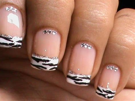 nail art: in different style of french manicure youtube