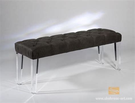 lucite leg bench lucite leg bench benches pinterest chairs benches