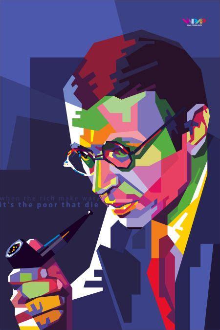 Wpap Stephen Hawking jean paul sartre in wedha s pop portrait pop