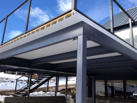 Waterproof Deck Ceiling by Waterproof Deck System Dryjoist Nexgen Decking