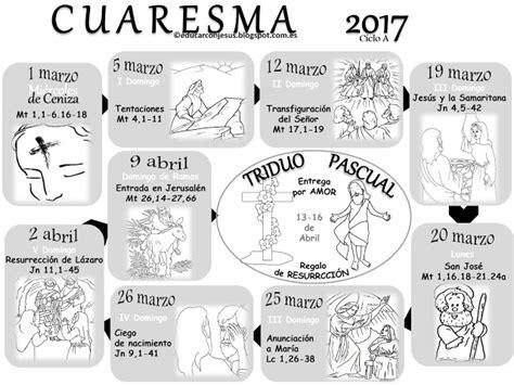 Calendario De Cuaresma Educar Con Jes 250 S Calendario Cuaresma Ciclo A Catequesis