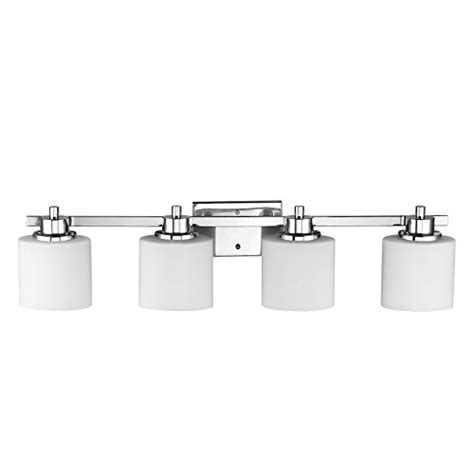 Chrome 4 Light Bathroom Fixture by Lighting Ch821036cm33 Bl4 4 Light