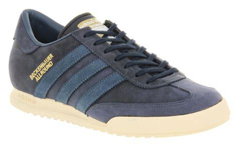 Sepatu Adidas Beckenbauer Allround adidas beckenbauer allround indigo blue suede