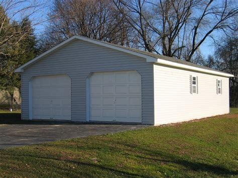 24x24 two car garage with lean to in millersville md 24x24 2 car garage garages pinterest car garage