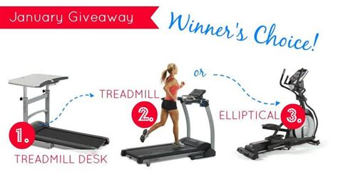 Treadmill Giveaway - january giveaway treadmill weed em reap