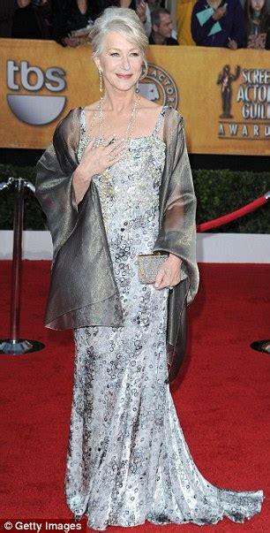 Helen Mirren Has At Sag Awards by Helen Mirren Sag Awards 2010