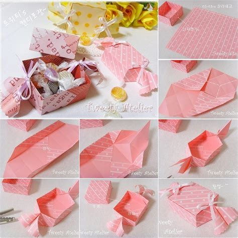 Origami Gifts For Friends - diy shaped paper gift box picture