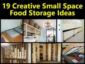 19 creative small space food storage ideas