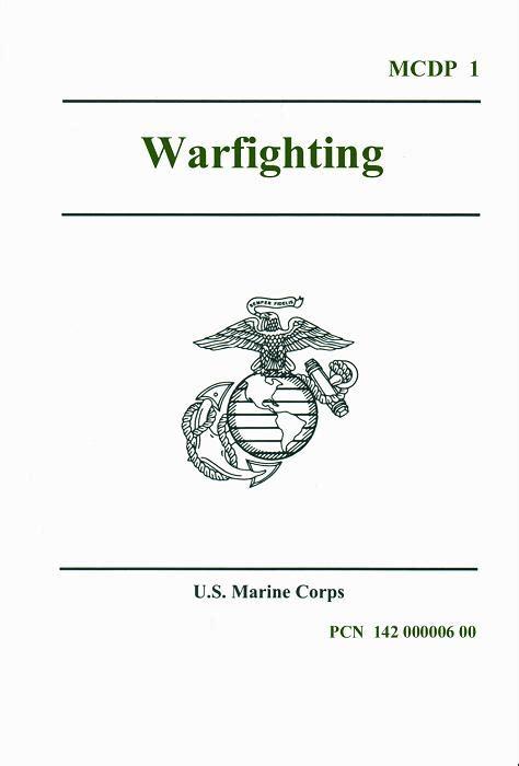 Mcdp 1 Warfighting Book Report book review warfighting defenceweb