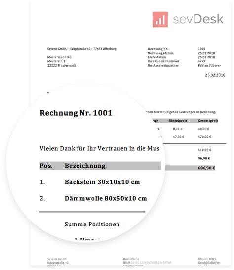 Rechnung Stornieren Englisch rechnungsvorlage f 252 r word excel downloaden kostenlos