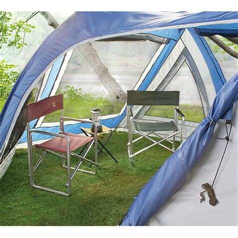Cing Tent With Screen Room by Outdoor Works Algonquin Family Dome Tent 221226 Cabin