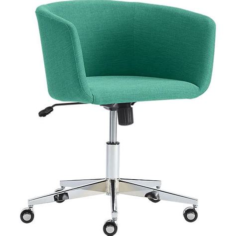 Teal Office Chair by Coup Teal Office Chair