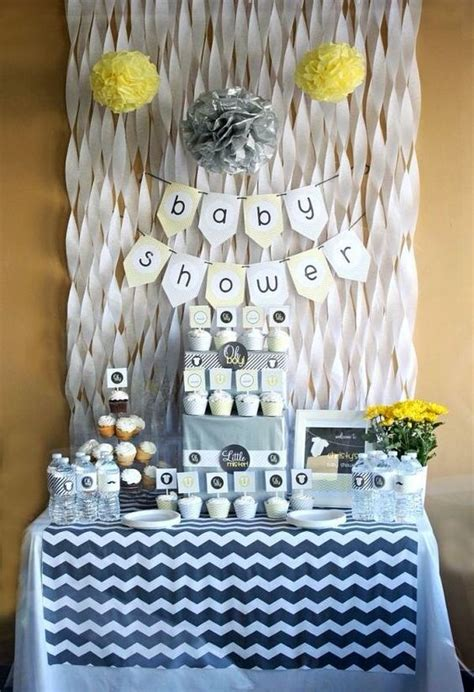 easy and cheap baby shower 37 modern baby shower d 233 cor ideas that really inspire