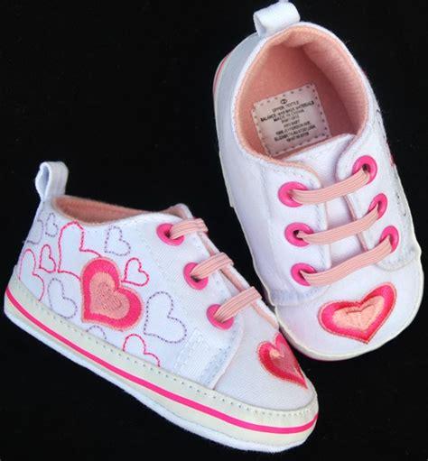 toddler baby pink tennis shoes size 2 3 ebay
