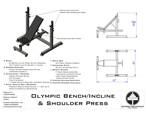 incline bench press shoulder pain click here to see cut sheet for product specifications