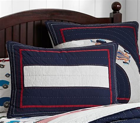 car bedding race car quilted bedding pottery barn