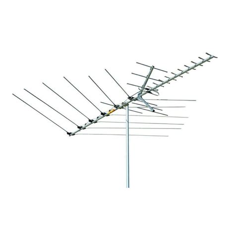 channel master 60 mile range uhf vhf fm hd tv outdoor antenna cm 3018 the home depot