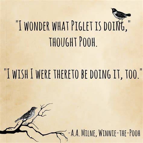 Aa Milne Birthday Quotes Winnie The Pooh A A Milne Friendship Books And Wisdom