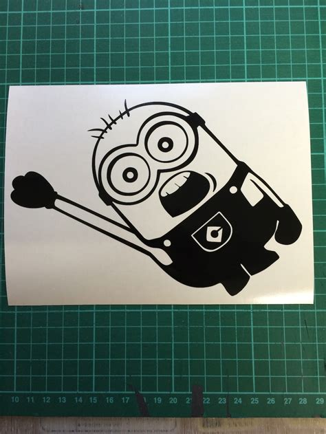 Minion Aufkleber Auto by Minion Car Stickers Car Interior Design