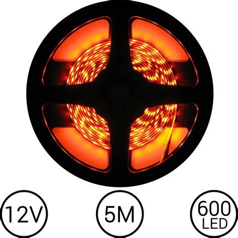 Lu Led Per Meter led oranje 5 meter 120 led per meter 12v ledstripxl