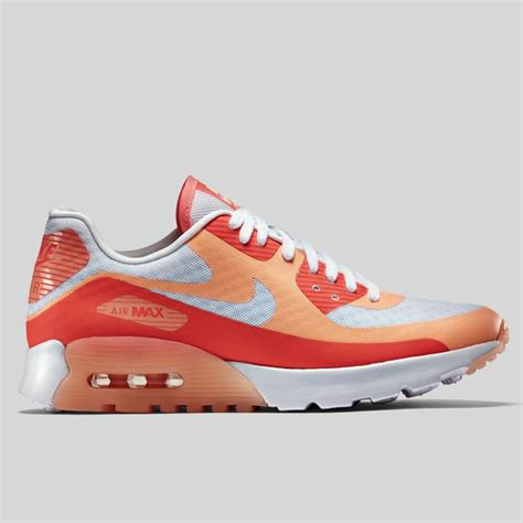 nike wmns air max 90 ultra br white sunset glow 725061