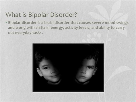 what causes mood swings in bipolar disorder bipolar disorder