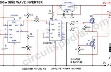 high quality inverter circuit diagram inverter circuit circuitspedia