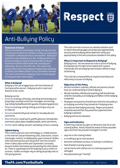 Luxury Anti Bullying Policy Template Image Resume Ideas Namanasa Com Anti Harassment Policy Template