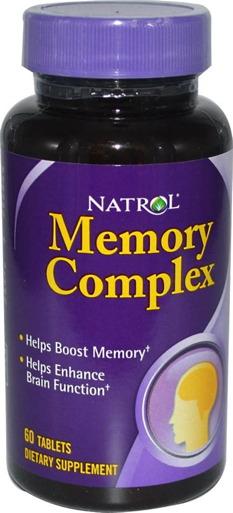 memory complex 60 tablets natrol ebay