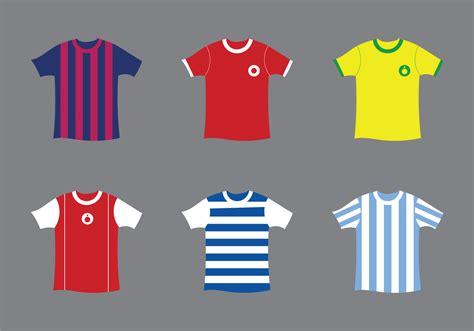 football jersey design vector football kit clipart 32